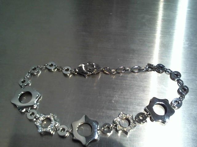 Gold Bracelet 14K White Gold 10.1g