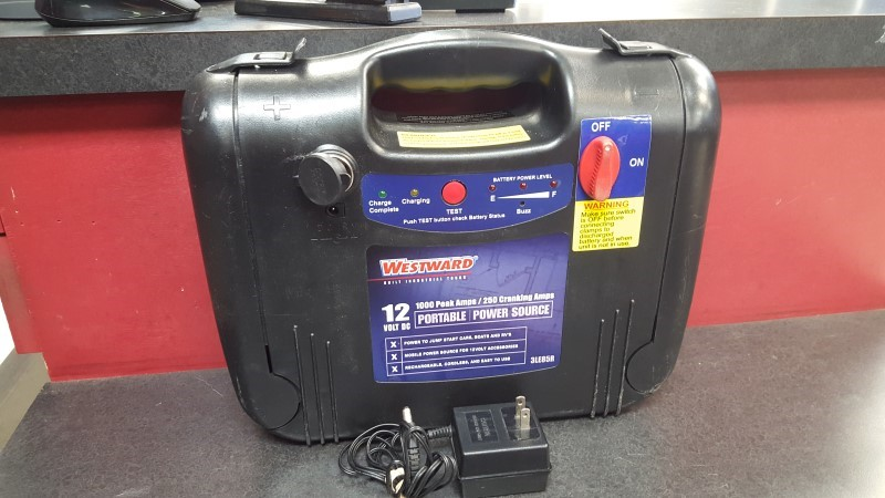 WESTWARD Battery/Charger 3LE85R