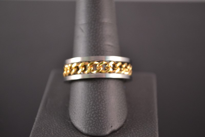 Gent's Ring Silver Stainless 9.1g