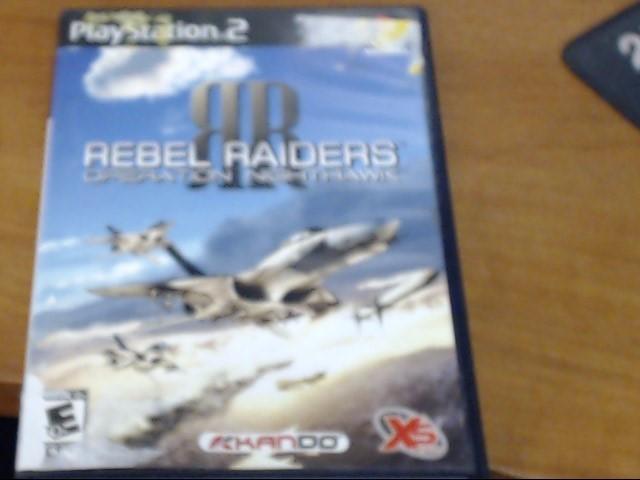SONY Sony PlayStation 2 REBEL RAIDERS OPERATION NIGHTHAWK