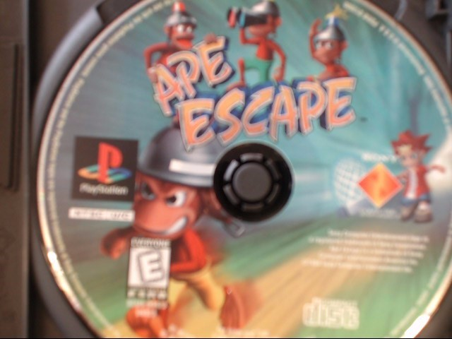 SONY PS1 APE ESCAPE