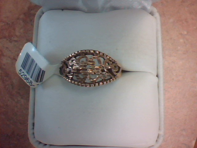 FILIGREE RING JEWELRY , 10KT, 2.