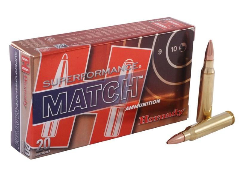 HORNADY Ammunition SUPERFORMANCE MATCH 5.56