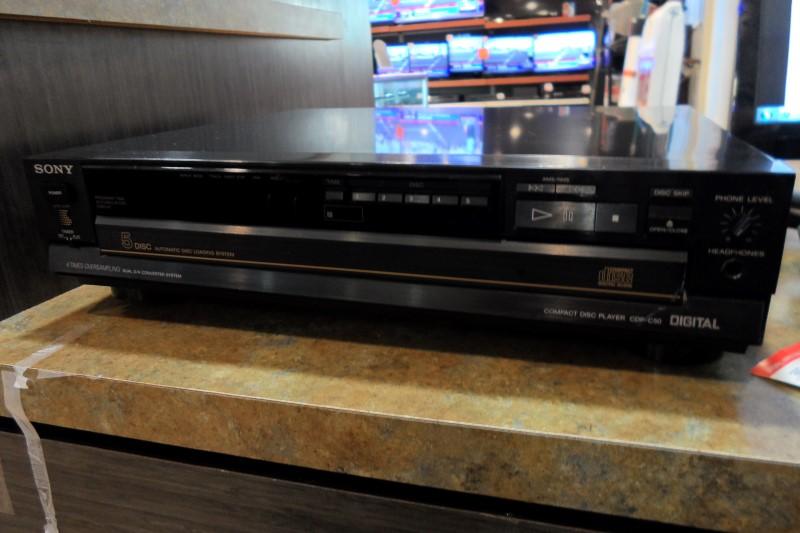 SONY CD Player & Recorder CDP-C50
