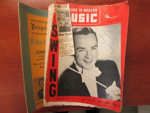 JIMMY DORSEY AUTOGRAPH COLLECION