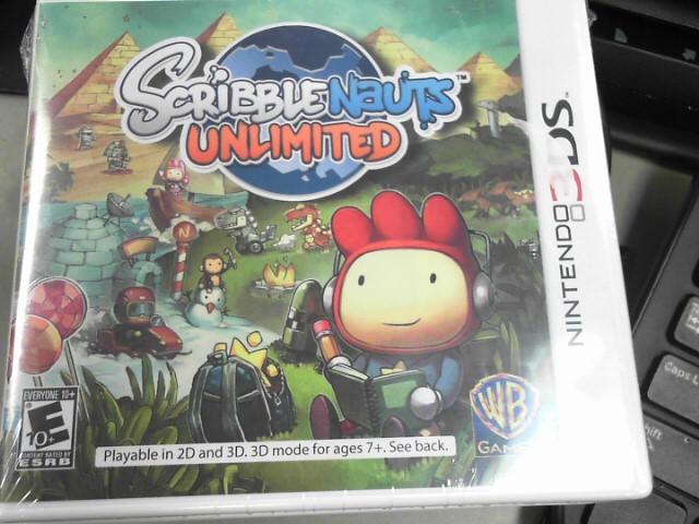 NINTENDO Nintendo 3DS SCRIBBLENAUTS UNLIMITED