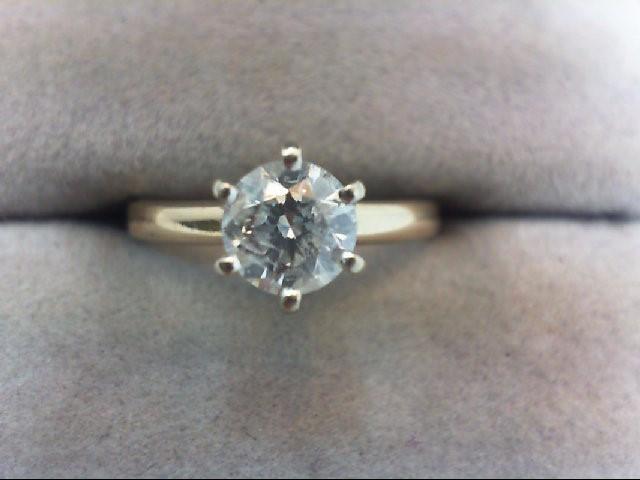 Lady's Diamond Engagement Ring .75 CT. 14K Yellow Gold 2.11g