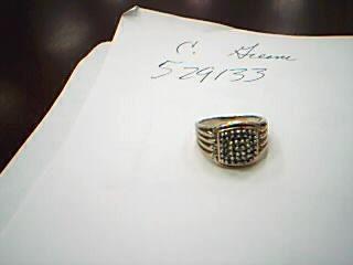 Gent's Diamond Fashion Ring 30 Diamonds .90 Carat T.W. 10K Yellow Gold 7.87g