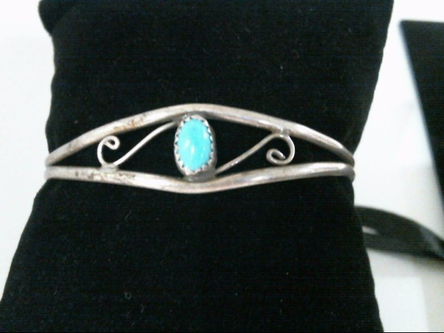 Silver Turquoise Bracelet