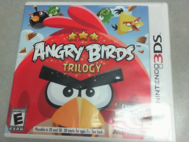 NINTENDO Nintendo 3DS Game 3DS ANGRY BIRDS TRILOGY