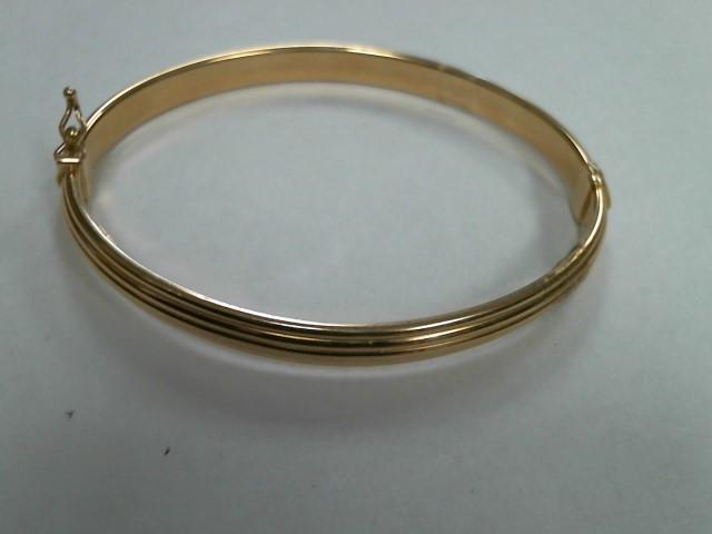 Gold Fashion Bracelet 18K Yellow Gold 3.7dwt