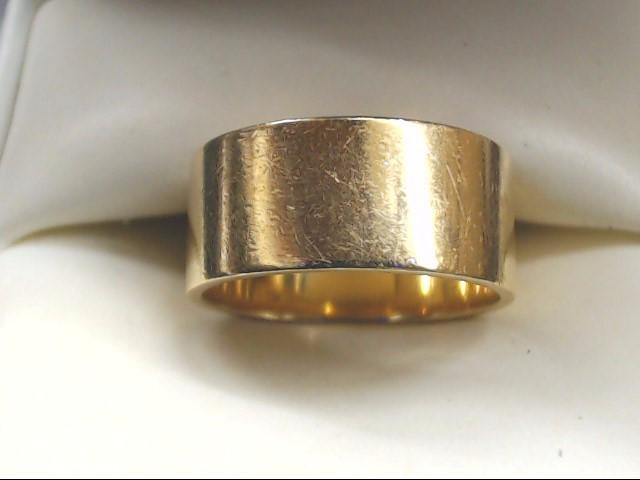Lady's Gold Wedding Band 14K Yellow Gold 5.8g Size:6