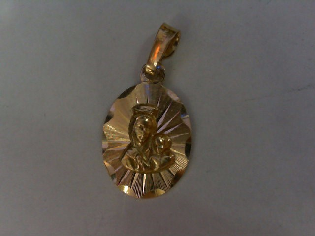 Gold Pendant 14K Yellow Gold 1.1g