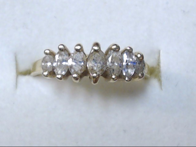 DIAMOND RING  14K  2.2G  S-6