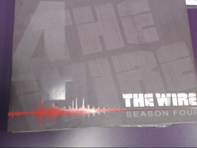 DVD BOX SET THE WIRE 4TH SEASON