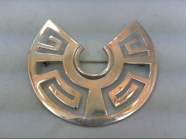 Silver Brooch 925 Silver 12.8g