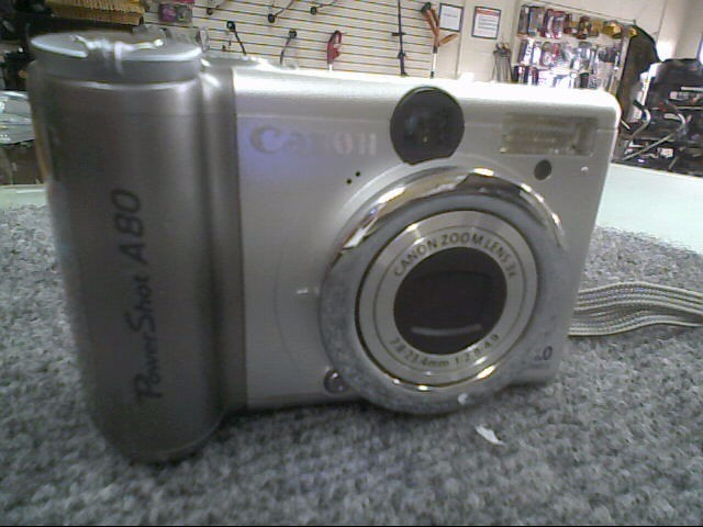 CANON Digital Camera POWERSHOT A80
