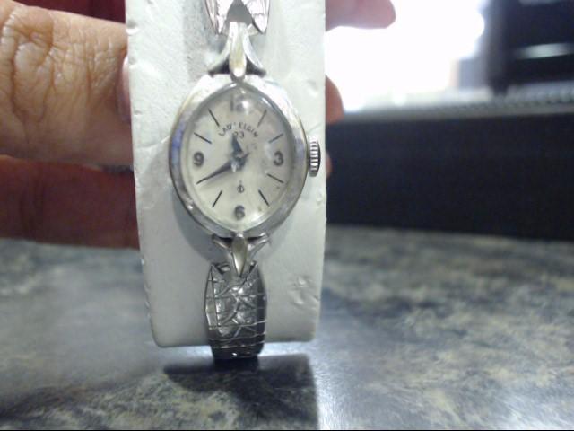 ELGIN Lady's Wristwatch LADY ELGIN 10K GP STAINLESS BACK WATCH