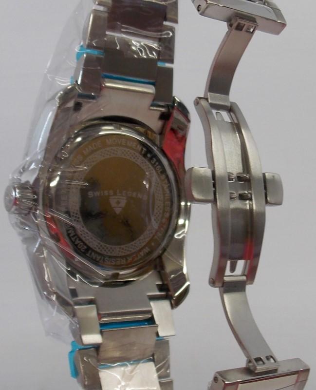 SWISS LEGEND COMMANDER MEN'S DIVERS WATCH, WATER RESISTANT 200M, SL-10059-22