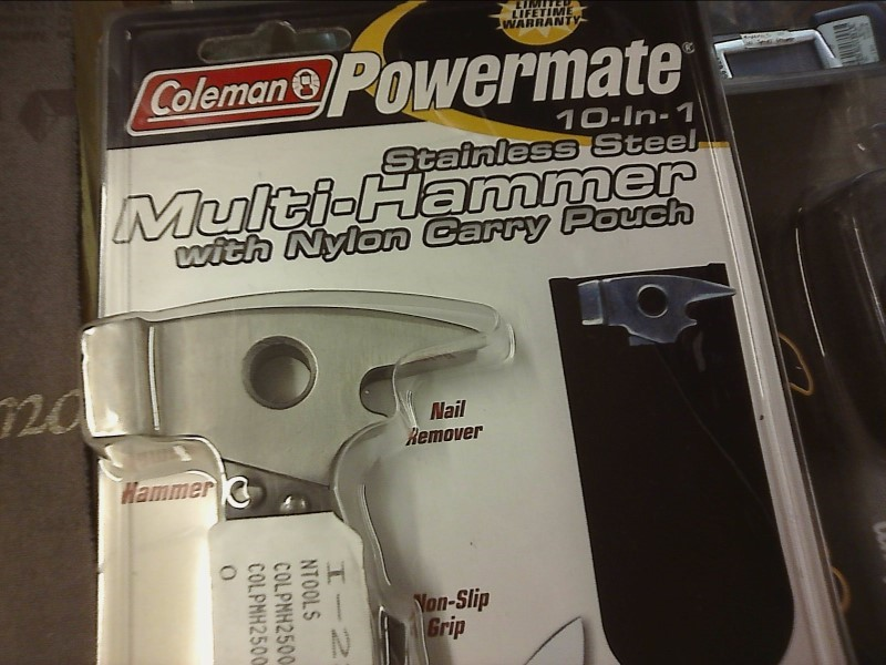 COLEMAN Pocket Knife MULTI-HAMMER