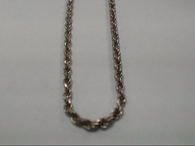 "24"" Silver Chain 925 Silver 17.1g"