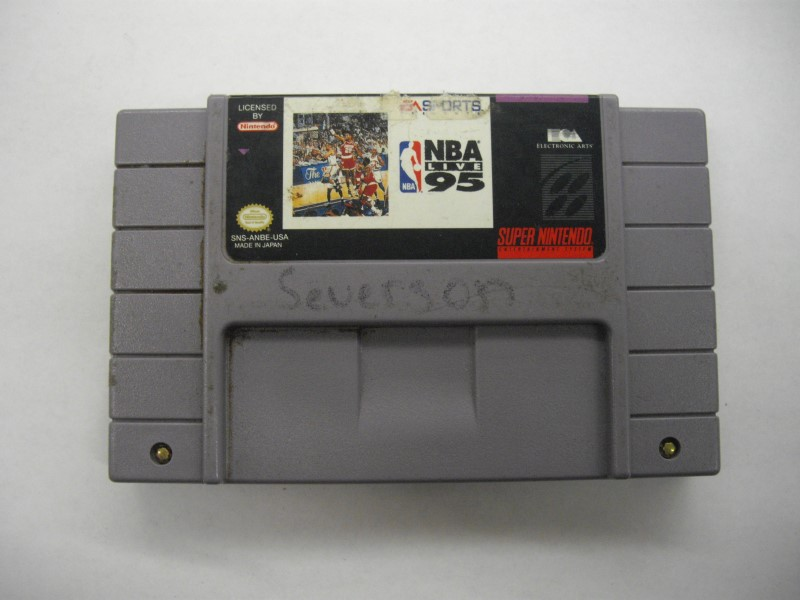 NINTENDO SNES Game NBA LIVE 95 *CARTRIDGE ONLY*