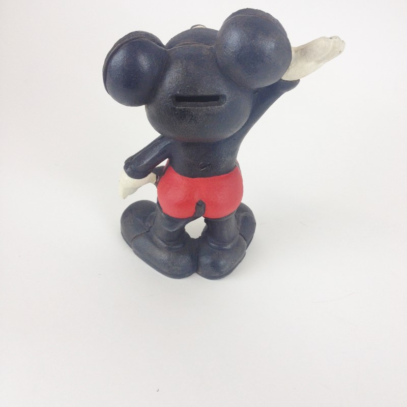 MICKEY MOUSE 1947 METAL BANK
