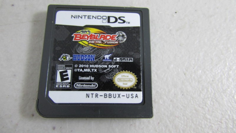 NINTENDO Nintendo DS Game BEYBLADE METAL FUSION BATTLE FORTRESS