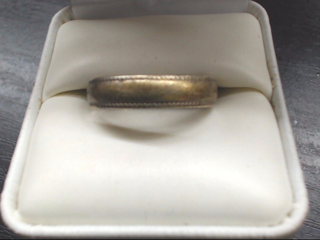 Gent's Silver Wedding Band 925 Silver 3.1g Size:12
