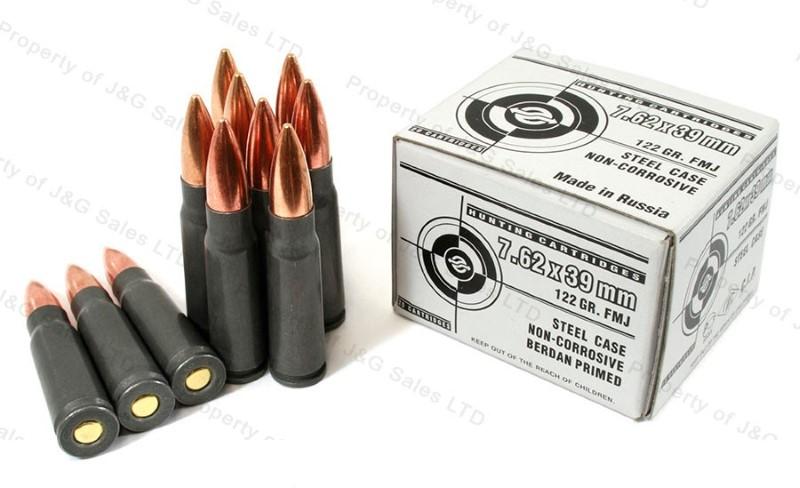 ULYANOVSK Ammunition 7.62X39
