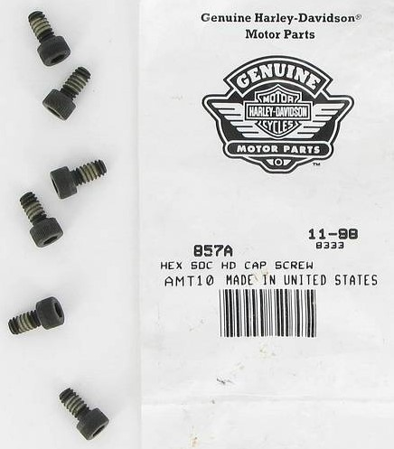 HARLEY DAVIDSON 857A, HEX SOC CAP SCREW