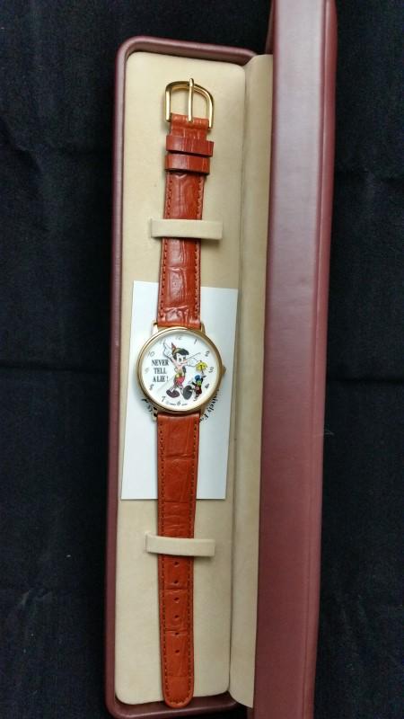 DISNEY wristwatch PINOCCHIO WATCH