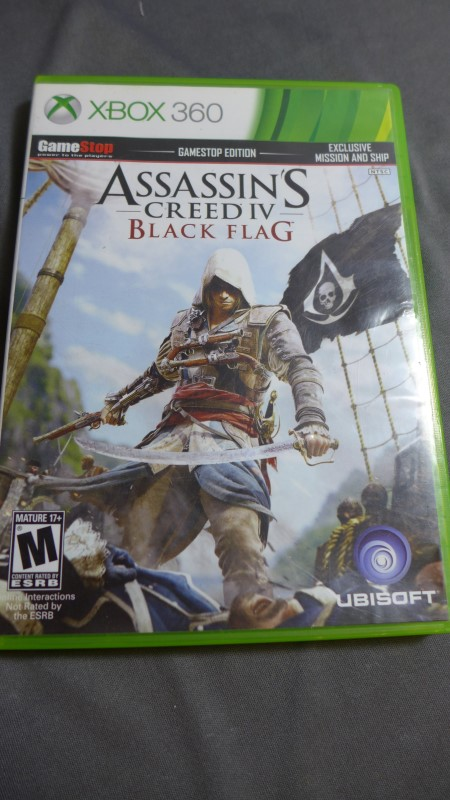 Microsoft XBOX 360 MISC GAMES ASSASSINS CREED IV BLACK FLAG