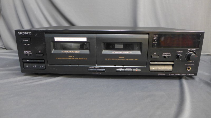 SONY Tape Player/Recorder TC-WR445