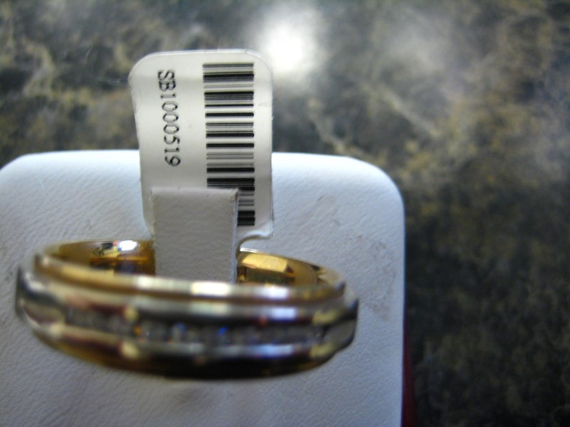 Gent's Gold Ring 14K 2 Tone Gold 9.5g