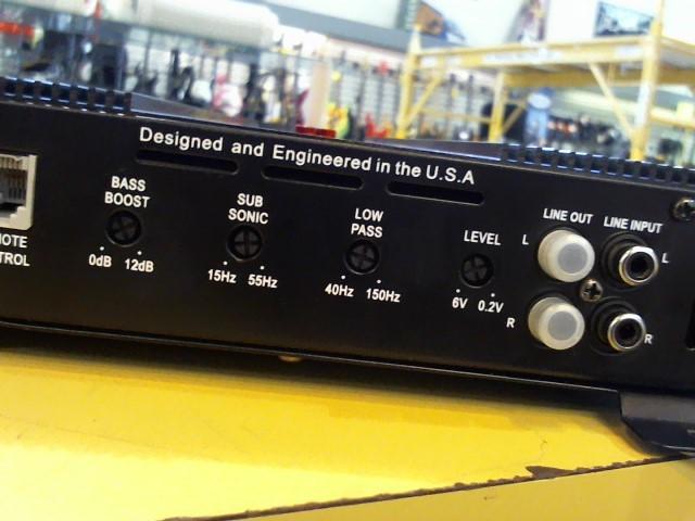CRUNCH AUDIO Car Amplifier POWERONE P1-2000.1
