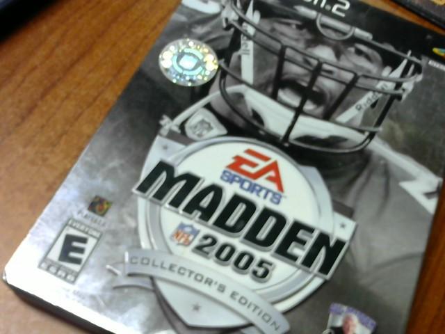 SONY Sony PlayStation 2 MADDEN 2005