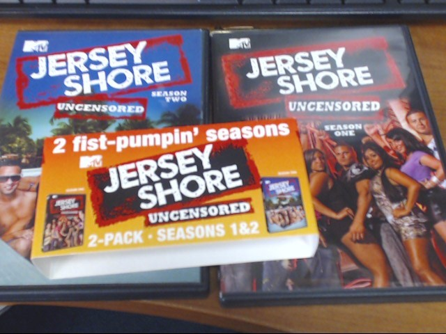 DVD BOX SET DVD JERSEY SHORE