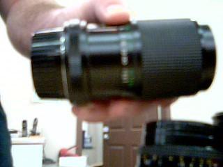 VIVITAR Lens/Filter 70-150MM MACRO FOCUSING LENS