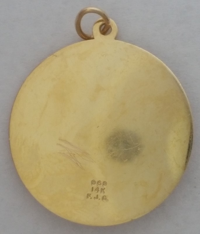 14K Yellow Gold March Birthstone Aquamarine Pisces FJG Fine Jewelers Guild Charm