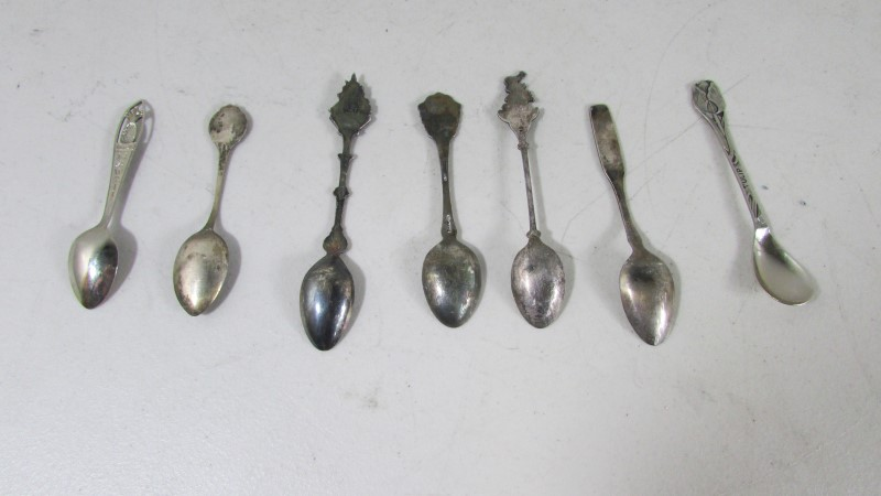 SPOONS STERLING SILVER 85.2g