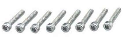 KURYAKYN 6219, LONG ISO GRIP SCREW-8PK