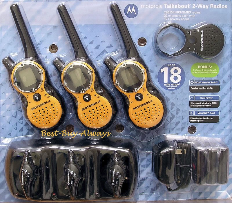 MOTOROLA 2 Way Radio TALKBABOUT T5320