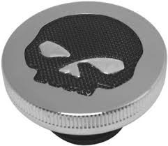 BIKERS CHOICE 666706 SKULL NON VENTED GAS CAP 84-96