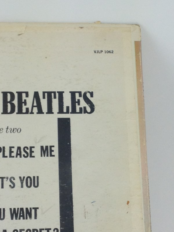 VEE JAY INTRODUCING THE BEATLES STEREOPHONIC RECORD LP