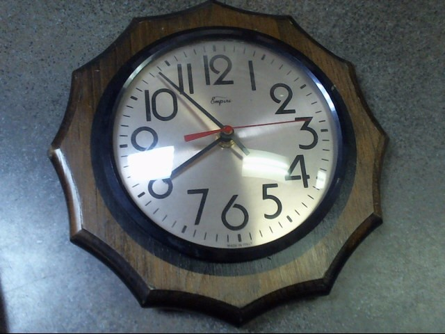 EMPIRE WALL CLOCK