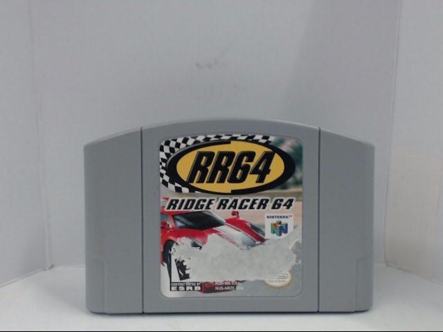 N64 RIDGE RACER 64 GAME