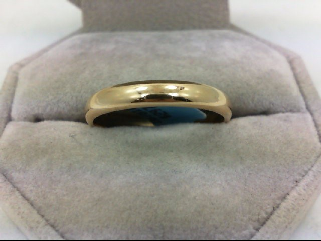 Lady's Gold Ring 14K Yellow Gold 4.5g Size:11.25