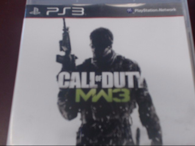 SONY PS3 CALL OF DUTY MW3