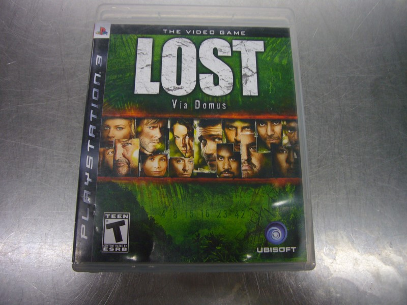 SONY PlayStation 3 Game LOST VIA DOMUS